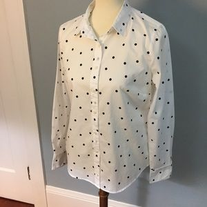 J. Crew Perfect button up shirt